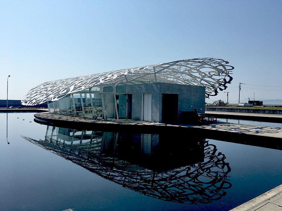 写真:男木島交流館