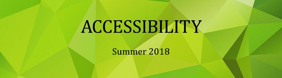 D2D アクセシビリティ勉強会 2018年・夏